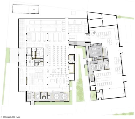 factory floor plan renewal and new additions to industrial building proj3ct Industrial