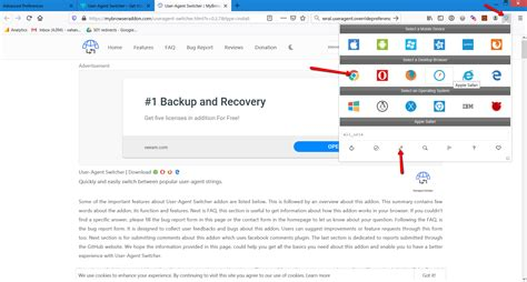 agent firefox switcher extension edge agents change clicking pen below icon custom