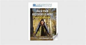 Cornerstone Is Back Pain Slowing You Down