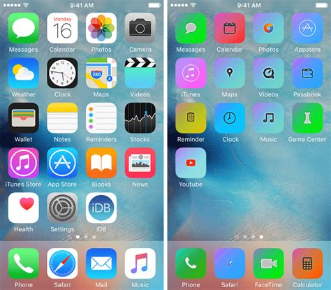 iphone 6 theme how to change iphone theme without jailbreak using iskin
