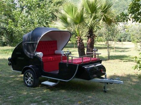 pkw anhänger selbstbausatz caretta wohnwagen als edles cabrio wohnmobile mini