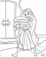 Rapunzel Coloring Tangled Pages Disney Printable Princess Drawing Colouring Books Sheets Supercoloring Boys Sam Printables Paper Getdrawings Flynn Colors Dinosaur sketch template