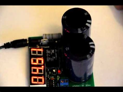 super capacitor charger battery module youtube