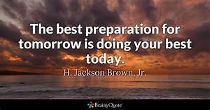 H. Jackson Brow... Tomorrow Funny Quotes