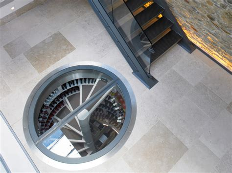 spiral wine cellar in kitchen floor spiral cellars the way to your wine collection 9374