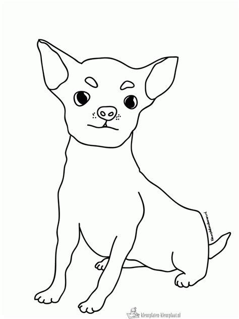 Domme Hond Kleurplaat by Kleurplaten Hond Kleurplaten Kleurplaat Nl