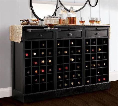 modular bar buffet   wine bases