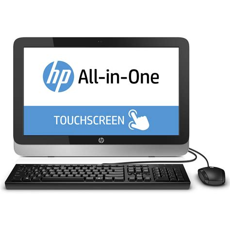 ordinateur de bureau tactile hp all in one 22 2124nf pc de bureau hp sur ldlc com
