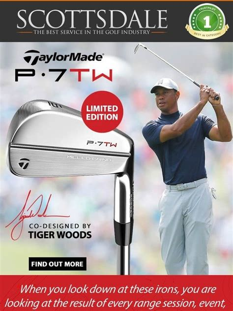 Scottsdale Golf: LIMITED EDITION | Tiger Woods Irons ...
