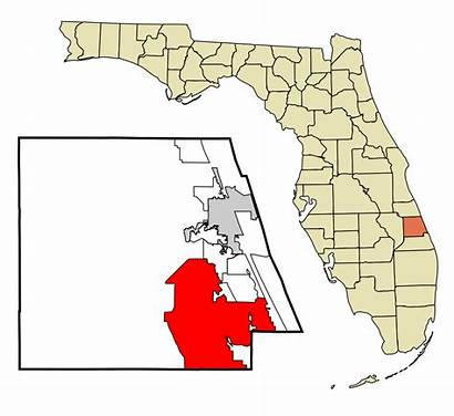 Lucie Port St County Florida Unincorporated Areas