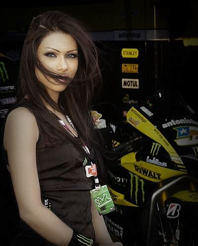 grid girls for monster yamaha asics and beauty a collection of ideas to try about