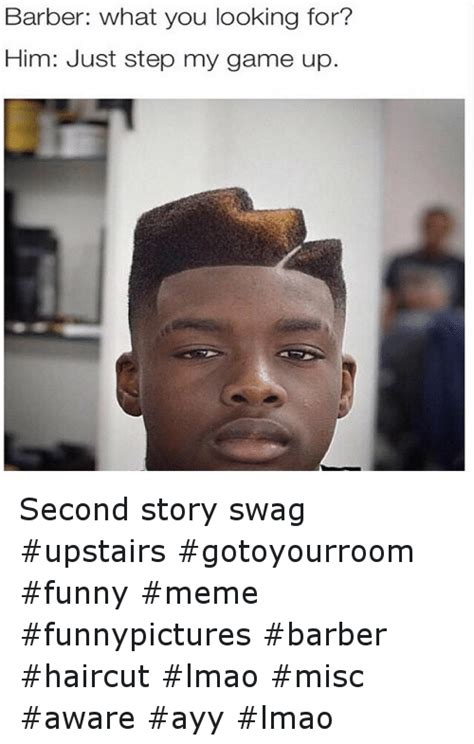 Lmao Meme - 14 funny barber funny and haircut memes of 2016 on sizzle