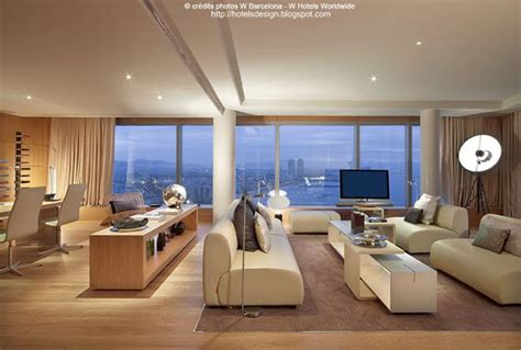 le monde du bureau les plus beaux hotels design du monde hôtel w barcelona
