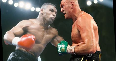 Mike Tyson explains how fight with Tyson Fury would go ...