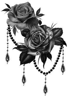15 Black Rose Tattoo Meanings And Designs | * Pure BodyArt (Tattoo+) * | Pinterest | Rose
