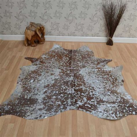 Metallic Cowhide by Metallic Cowhide Rugs Free Delivery At The Rug Seller