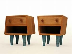 Table De Chevet Design : tables de chevet socks merry design studio ~ Teatrodelosmanantiales.com Idées de Décoration