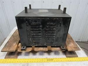Ajax 16kva Transformer Pri 460v Sec  1 165 Wye Sec  2 3x115v Cincinnati Milacron