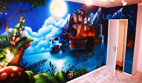 chambre panpan pan et bateau du capitaine crochet chambre de