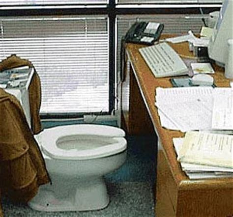 toilet desk chair chicago bull pooping at work awkward encounters or free