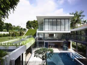 house plans with swimming pools beautiful house with courtyard swimming pool modern house designs