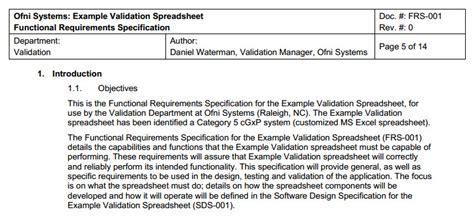 functional requirements document template fastval functional requirements template ofni systems