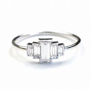 diamond engagement ring engagement ring baguette With baguette diamond wedding ring