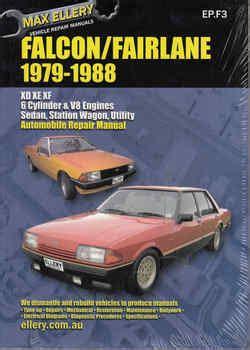ford australia workshop manuals
