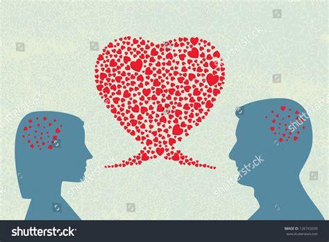 love dialogue vector stock vector  shutterstock