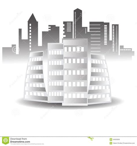 abstract buildings royalty free stock image image 34593936