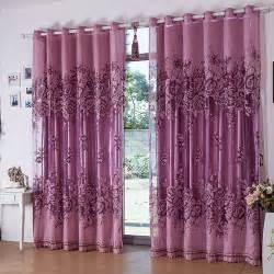 free shipping curtains for living room purple window curtains ready made blackout curtain and