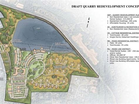 residents  happy  proposed quarry plan  basking