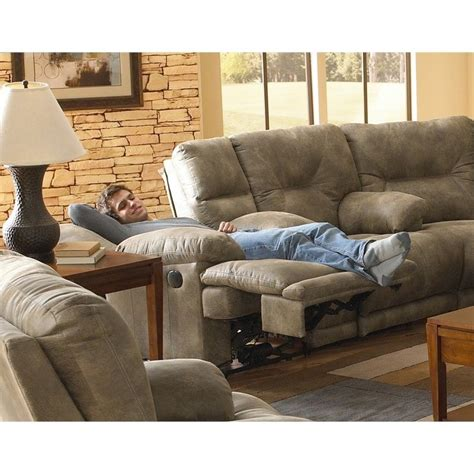 Catnapper Reclining Sofa Voyager by Catnapper Voyager Power Lay Flat Reclining Console