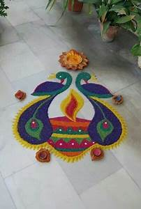 Rangoli designs for diwali - Free hand rangoli designs for ...