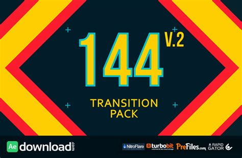Cool Transitions After Effects Templates by Transitions Pack Videohive Project Free Download Free