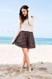 Lucy Hale - Hollister Clothing Photoshoot (2014) • CelebMafia