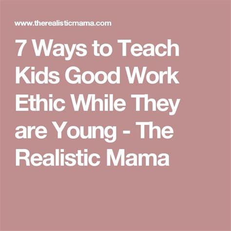 17 Best Ideas About Good Work Ethic On Pinterest