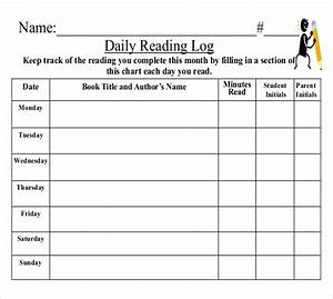 log templates 15 free word excel pdf documents With summer reading log template