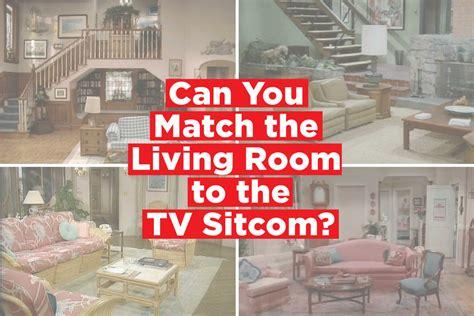 quiz match  famous living room   tv sitcom