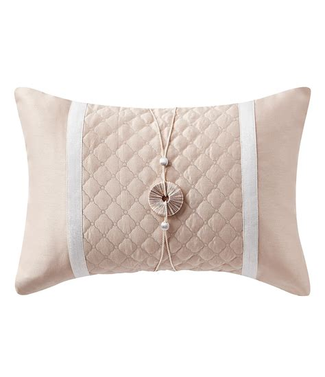 waterford pearl pillow ornament waterford belissa quilted breakfast pillow dillard s