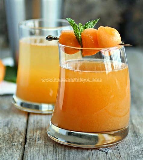 cuisine antillaise martinique cocktail au melon antillais recette antillaise
