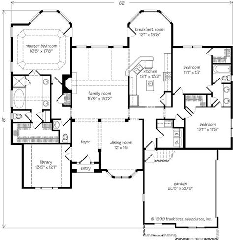 frank betz open floor plans sanderson place frank betz associates inc southern