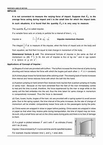 Class 11 Laws Of Motion Notes For Iit Jee  U0026 Neet