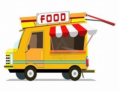 Truck Clipart Trucks Foodtruck Burger Clip Fast