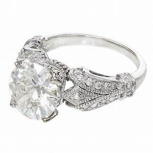 diamond white gold engagement ring at 1stdibs With white diamond wedding ring