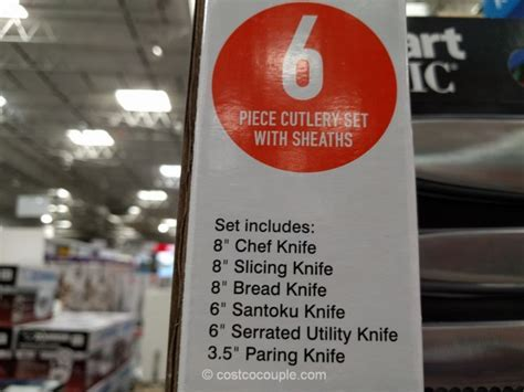 Cuisinart 6 Piece Knife Set