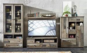 Tv Möbel Vintage : wohnwand wohnzimmer set vitrine lowboard wandregal tv tisch vintage shabby retro 4250314530724 ~ Sanjose-hotels-ca.com Haus und Dekorationen