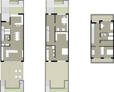schmale häuser grundrisse die besten 25 reihenhaus grundriss ideen auf