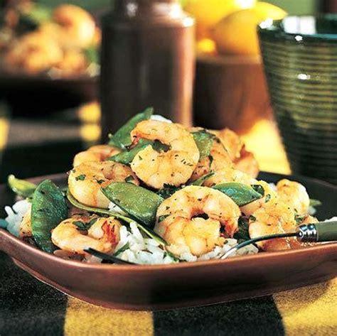 Flank steak and vegetable stir fry. Diabetic Shrimp and Snow Pea Stir-Fry   Recipe   Seafood recipes healthy, Seafood recipes, Recipes