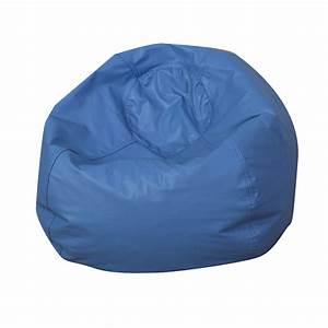 35, U0026quot, Round, Bean, Bag, -, Blue